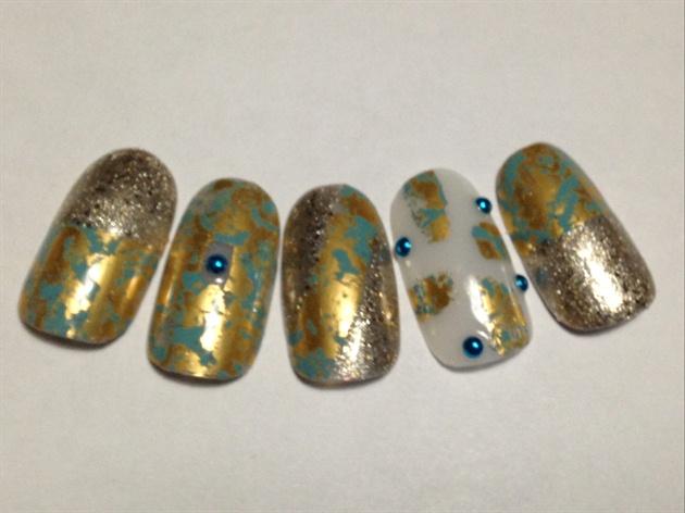 Gold & Turquoise Set!
