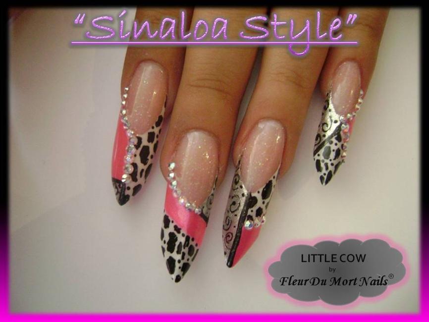 Estilo Sinaloa - Nail Art Gallery