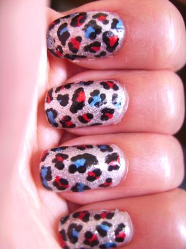 Patriotic Leopard