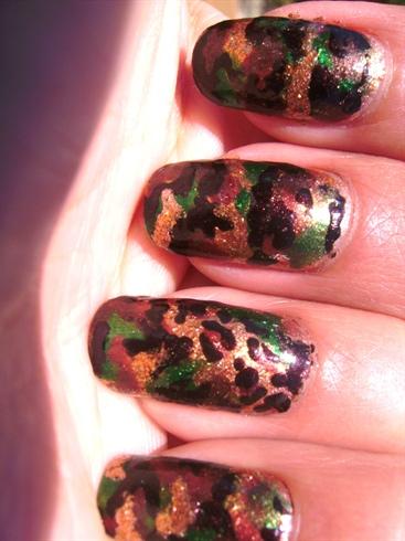 Fierce Army Wife Nails