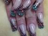 Circles glitter