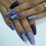Russian style purple