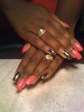 Cheetah MINX and pink polish