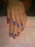 Blue Lightning and Polka Dot MINX