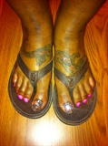 Bling toes and polish