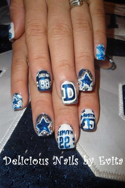 Dallas cowboys jerseys nail art gallery prinsesfo Choice Image