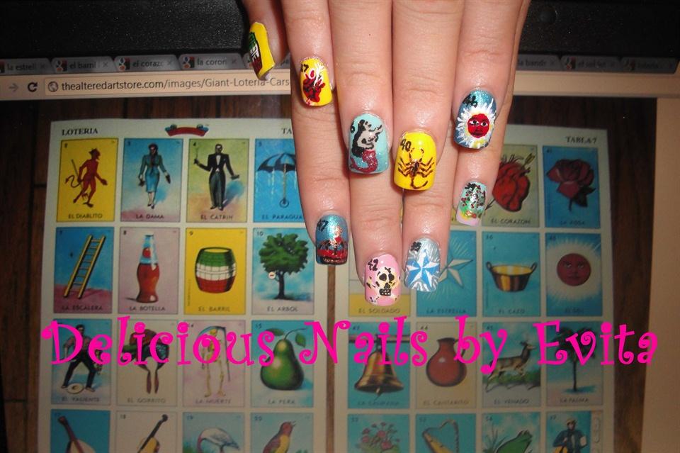 Loterriaaaa Mexican Bingo Nail Art Gallery