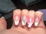 White French & Flower