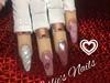Valentines Nails, Unicorn Nails, Chrome