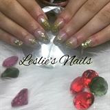 Gold Glitter Ombré