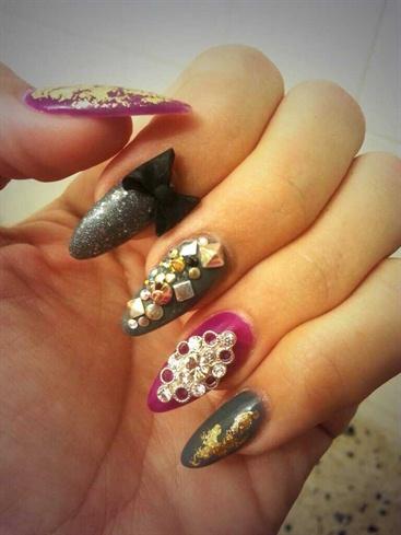 almond nails shape  nail art gallery