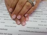 Gel Polish French Manicure