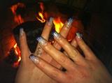 make the nails biger