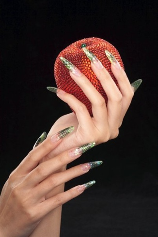 Sinfully Seductive Cina Catalog Nails