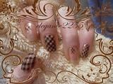 Check Pattern Nails