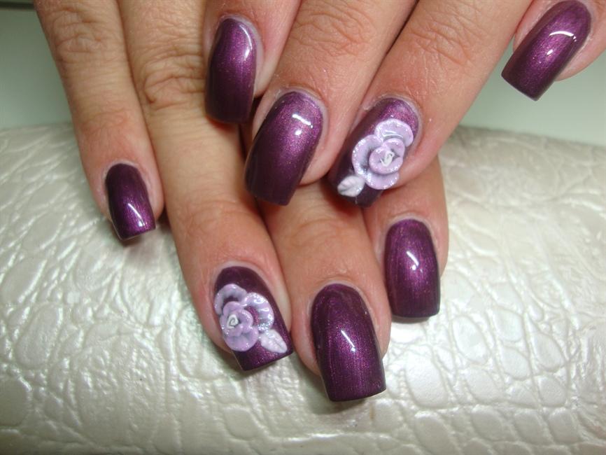 3d gel nail art - Nail Art Gallery