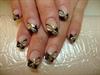 Nail art oro