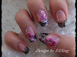 nail art: Elegant