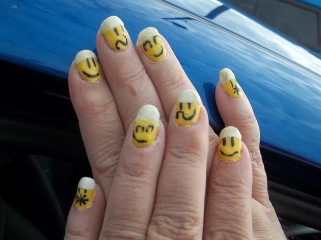 Emoticons Nail Art Gallery