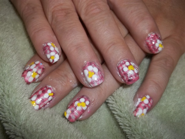 Gingham and flowers