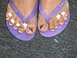 Animal Print toes