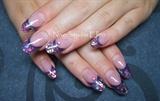 colorfull shell nails