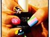 My Powerpuff Girl Nails 💙💚❤️