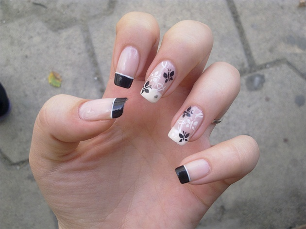 Black 'n White butterfly