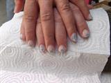 short nails decoration
