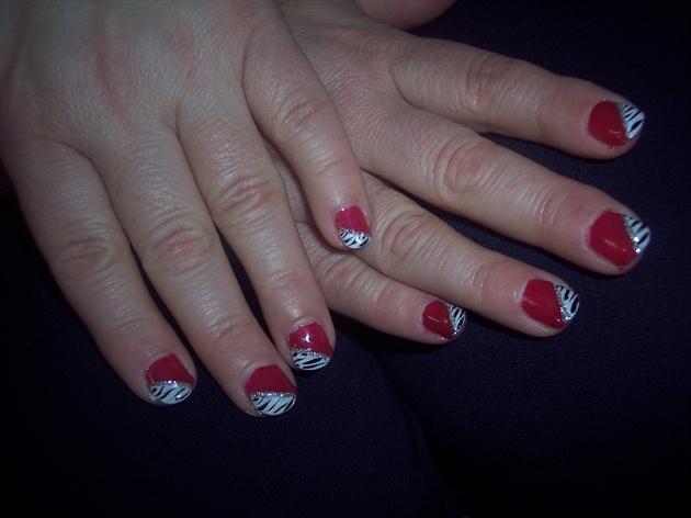 Red zebra!