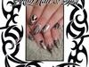 Polynesian nail art