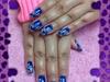 free hand nail painting