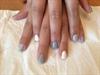 Grey Bridesmaid Nails