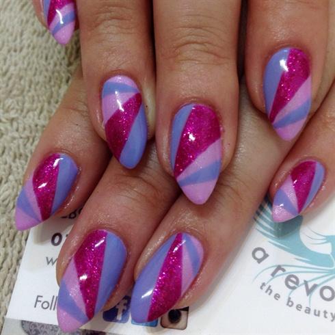 Pink Purple Candy