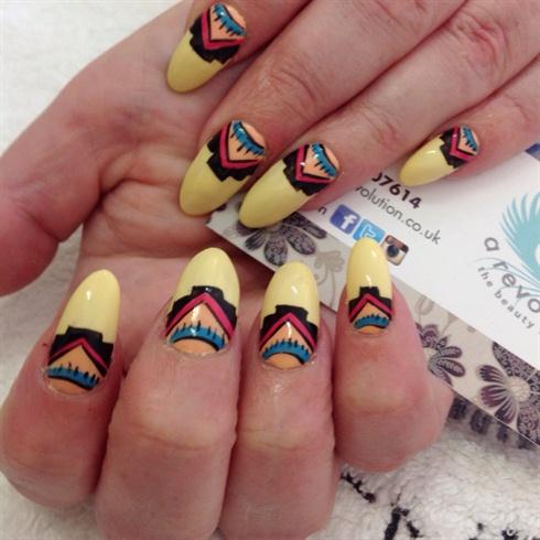 Aztec Summer Nails