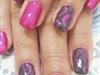 pink grey swirls