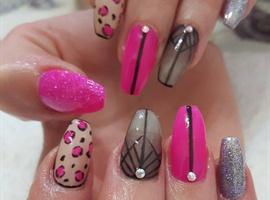 nail art: Mixed Art