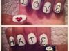 Love/Hate Nail art