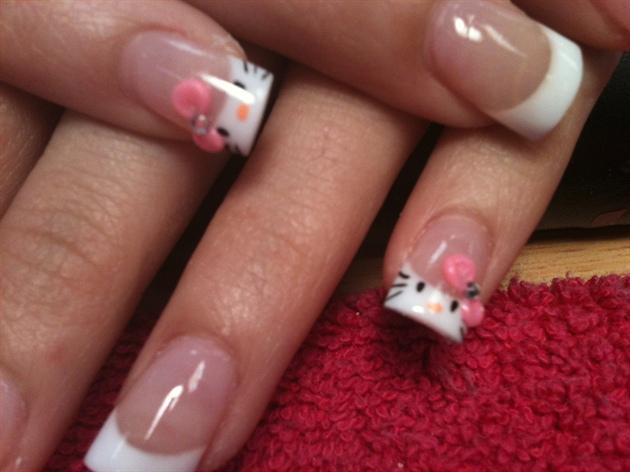 My sisters nails