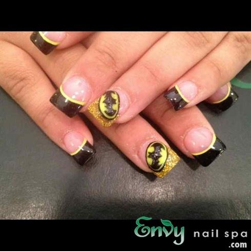 Batman Nail Design Nail Art Gallery