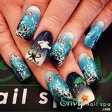 Aquarium Nail Design