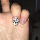 Free Handed Nail Art