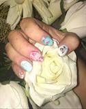 Practicing Nail Design