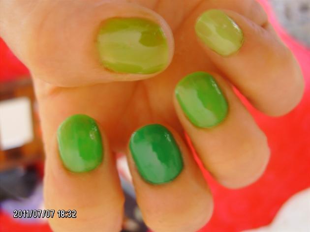 Verde degradè