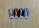 Converse shoes nail art