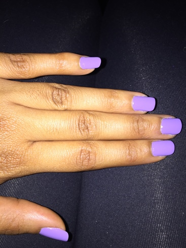raining purple