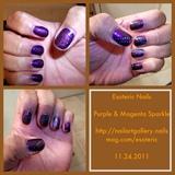 Purple & Magenta Sparkle