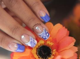 nail art: FRANCESINHA DIFERENTE