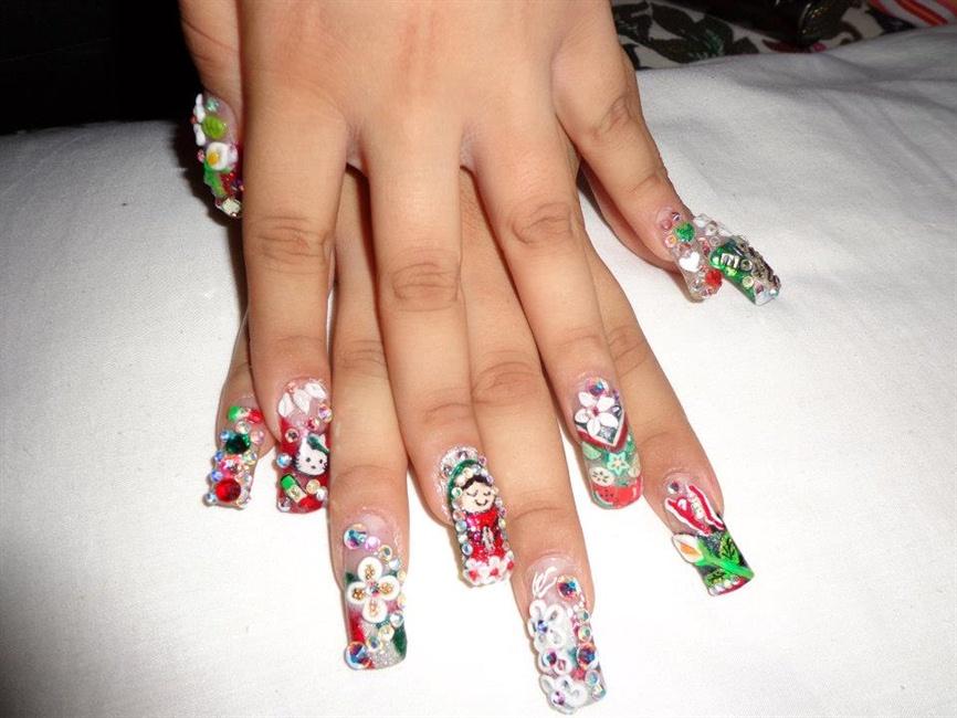 Mexican Nails Nail Art Gallery