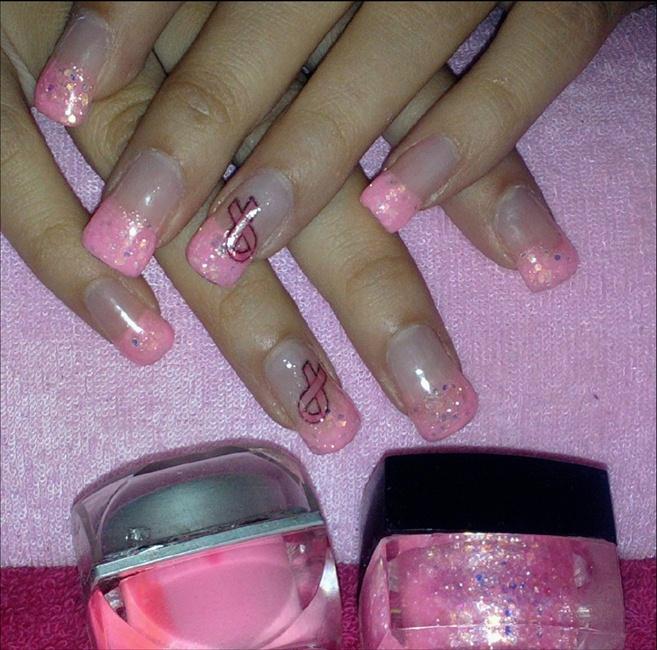Gel Nails Pink Nail Art Gallery